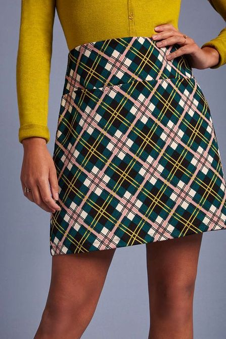 King Louie Olivia Skirt Cambridge