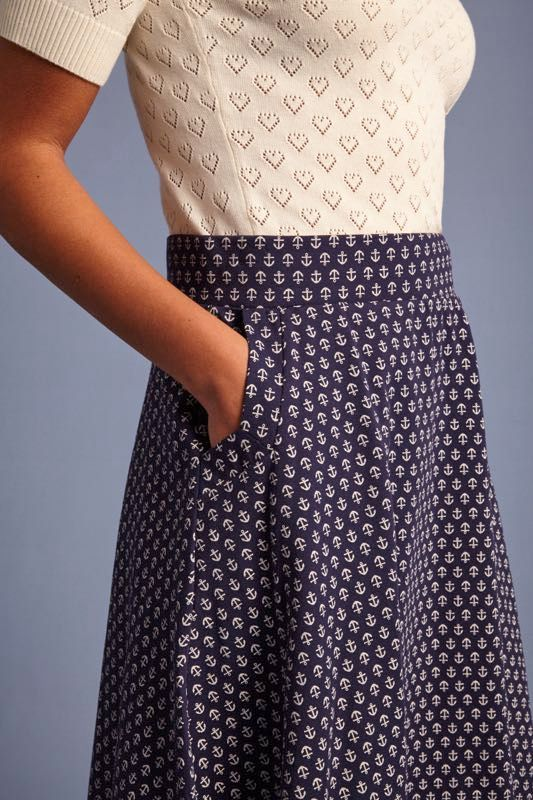 King Louie Sofia Skirt Mariniere