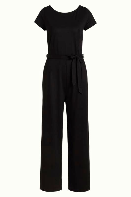 Sally Jumpsuit Ecovero Classic in schwarz von King Louie