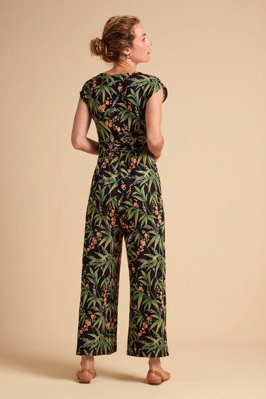 King Louie Lot Cropped Jumpsuit Tahiti