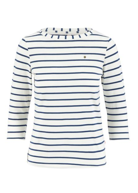 Blutsgeschwister logo 3/4 sleeve shirt stripe of Paris