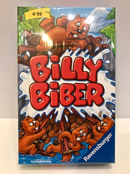 Kartenspiel Billy Biber