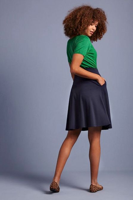 King Louie Sofia Skirt navy