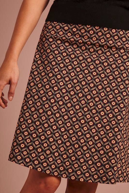 King Louie Border Skirt Sirocco